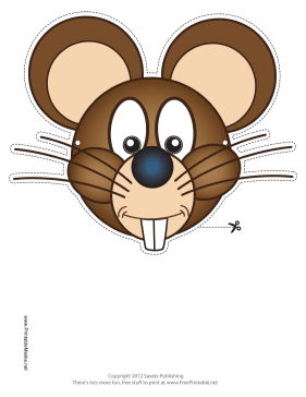 Printable mouse mask mask for Printable mouse mask template