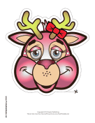Deer with Bow Mask